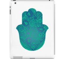 Blue Hamsa iPad Case/Skin