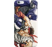 Dark Knight vs Street Fighter iPhone Case/Skin