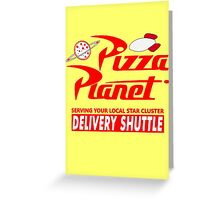 Pizza Planet Greeting Card