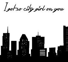 City Girl. by Caitlin Cameron