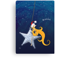 Kazart Phoebe 'Super Star Christmas' Canvas Print
