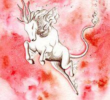 Elemental Fire Qilin by anilatac