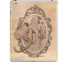 a lady needn't fear being lonely iPad Case/Skin