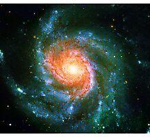 Pinwheel Galaxy [Vibrant Version] | Sacred Geometry Pattern by SirDouglasFresh