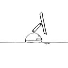 iMac G4 - Single Line by douglaswood