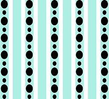 Stripes and Dots by ArtfulDoodler