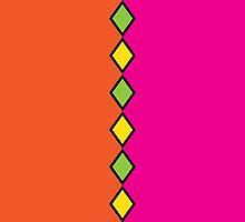 Bright Tribal Pattern by ArtfulDoodler