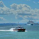 The Waitemata on the Waitemata.........Sparkling Waters ! by Roy  Massicks