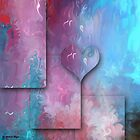 Love Abstract 47- wall art + T-shirt +Kids Clothesּ+IPhone Cases + iPad Cases+Throw Pillows by haya1812
