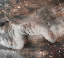 By Your Side There Are Angels 18 by Caroline Julia Moore
