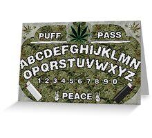 Weedji Board Greeting Card