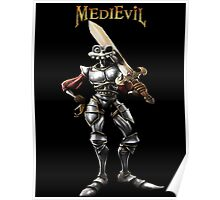 Sir Dan of MediEvil Poster