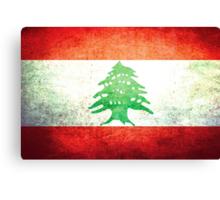 Lebanon - Vintage Canvas Print
