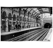 London Tube Station Poster