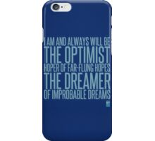 dr.eamer of improbable dr.eams iPhone Case/Skin