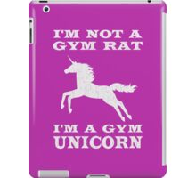 I'm Not A Gym Rat I'm A Gym Unicorn iPad Case/Skin