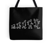 HARING EVOLVES by Tai's Tees Tote Bag
