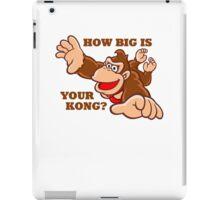 Donkey Kong How Big iPad Case/Skin