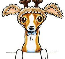 Oh Deer   Italian Greyhound by offleashart