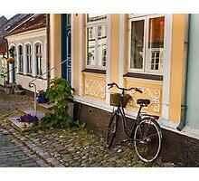 Bicycles of Aero 9 Photographic Print