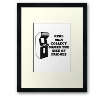 Arcade Collect Fridges Framed Print