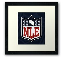 National League of Evil Framed Print