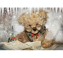Dear Santa…I've been thinking Photographic Print