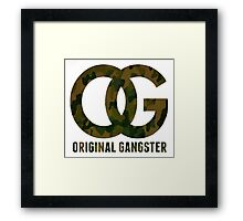 Original Gangster Framed Print