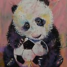 Soccer Player by Michael Creese