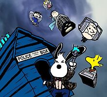snoopy as doctor who  by Presiosa04