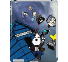 snoopy as doctor who  iPad Case/Skin