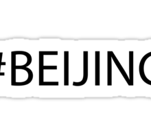 #Beijing Black Sticker