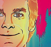 Dexter Comic Illustration  by evaalessandria
