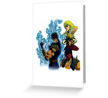 Fist of The North Star Greeting Card