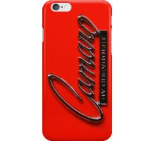 Camaro  iPhone Case/Skin