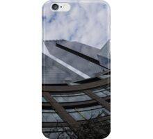 Hugging Columbus Circle - Curved New York Skyscrapers iPhone Case/Skin