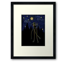 Starry Night Adventure Framed Print
