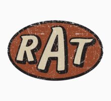 RAT - weathered/distressed Kids Clothes