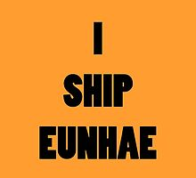 I ship EunHae by supalurve