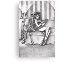 Mr Tickles Canvas Print