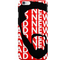 The Face of Bad News iPhone Case/Skin