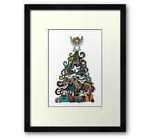 angel tree Framed Print