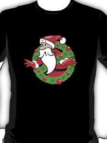 Ghostbusters Christmas Holiday T-Shirt