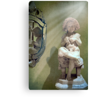 Little Knitter ~ Reflections of Old Canvas Print