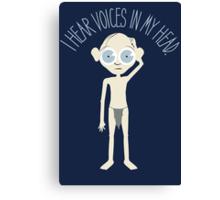 I Hear Voices Canvas Print