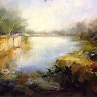 WERRIBEE RIVER (VICTORIA AUSTRALIA) by Ivana Pinaffo