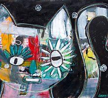 Cat by Leonie Leivenzon