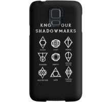 Know Your Shadowmarks (Light) Samsung Galaxy Case/Skin