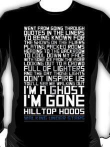 Hilltop Hoods - I'm A Ghost - White T-Shirt