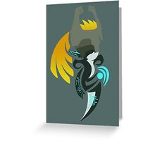 Hour of Twilight - Midna Greeting Card